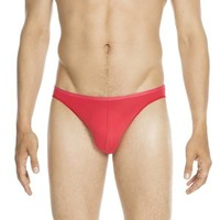 HOM Plumes Micro Briefs Red