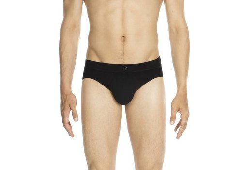 HOM Best Modal Comfort Mini Briefs Black