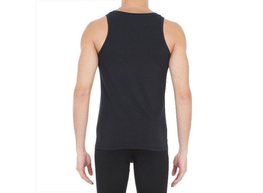 HOM Supreme Cotton Tanktop Black