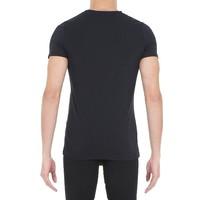 HOM Supreme Cotton Tee-Shirt V Neck Black