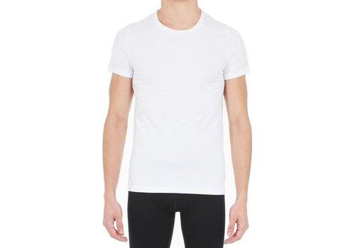 HOM Supreme Cotton Tee-Shirt Crew Neck White