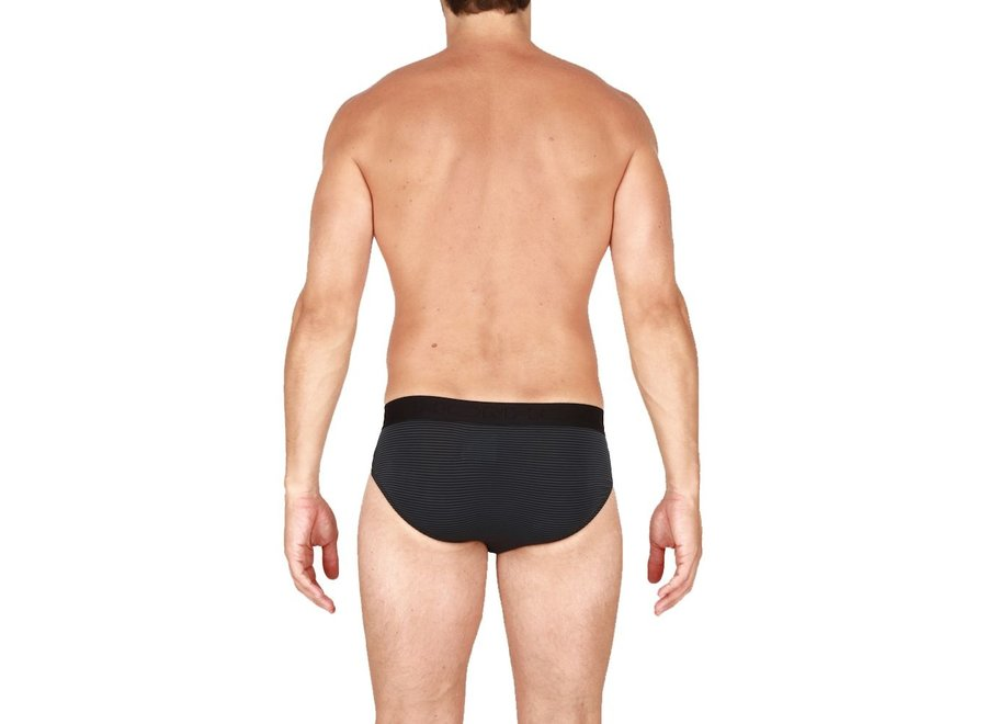 HOM Simon Mini Briefs Black