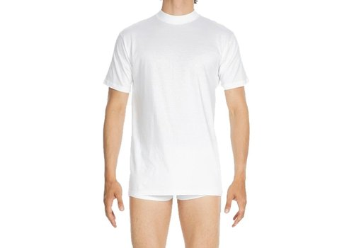 HOM Harro New Tee-Shirt Crew Neck White-Light Combination
