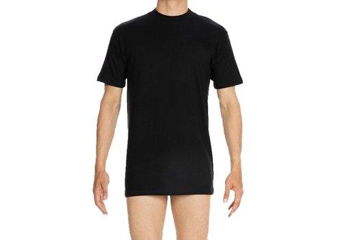 HOM Harro New Tee-Shirt Crew Neck Black Combination