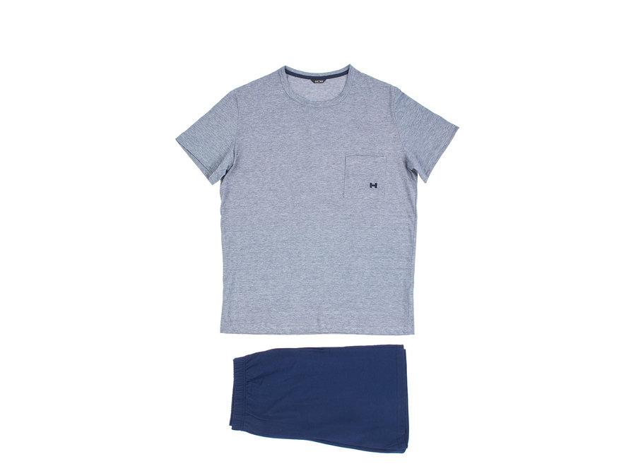 HOM Comfort Short Sleepwear Navy