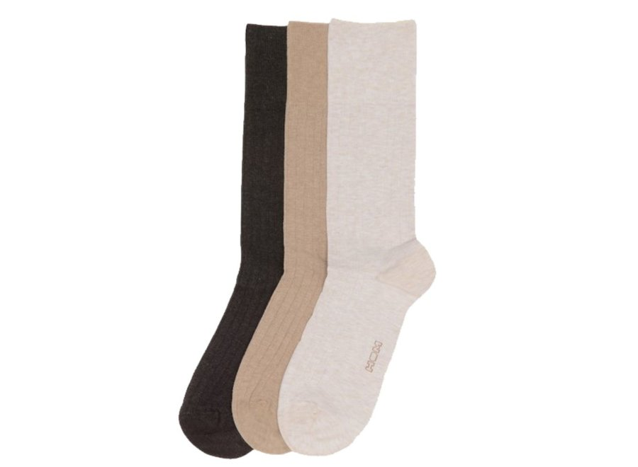 HOM Triple Pack Coton One Size Socks Multiple Colours 1