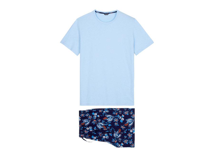 HOM Morgiou Short Sleepwear Blue