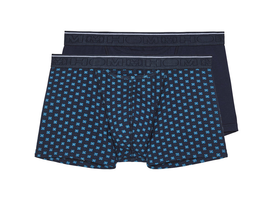 HOM Dominique Boxer Briefs HO1 2Pack Navy-Navy Print