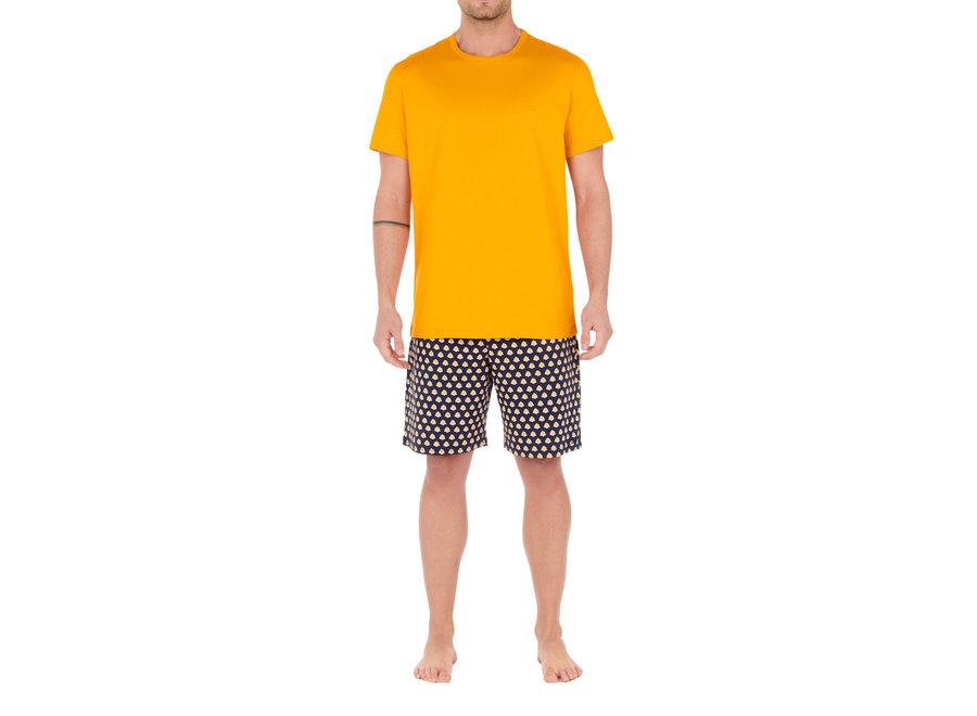 HOM Grimaud Short Sleepwear Yellow