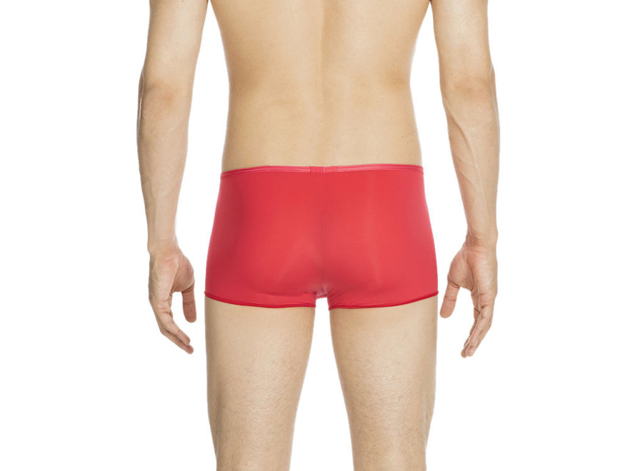 HOM Plumes Trunk Red