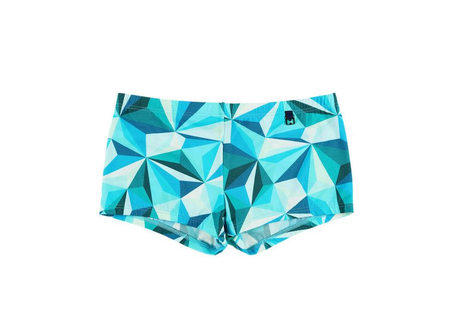 HOM Diamant Swim Shorts Green