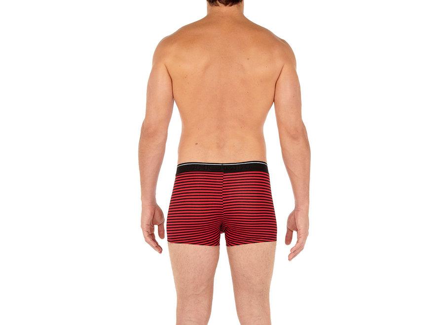 HOM Boxer Briefs 3Pack Matt #2 Black-Black Stripes-Grey