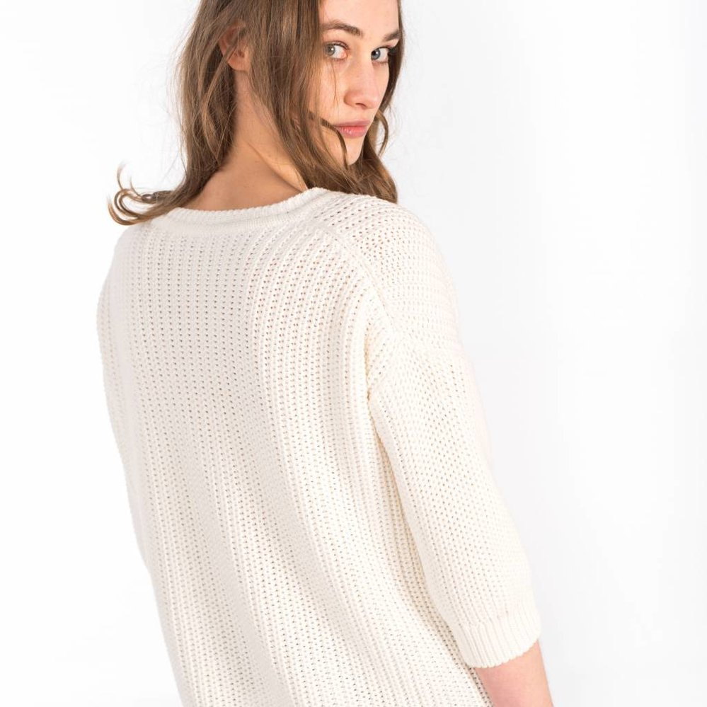 Easy to wear, but classy pullover