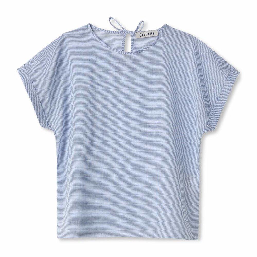 linen easy fit top