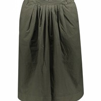 elin rok vrouwen khaki groen
