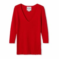 lola vrouwen katoenen trui rood