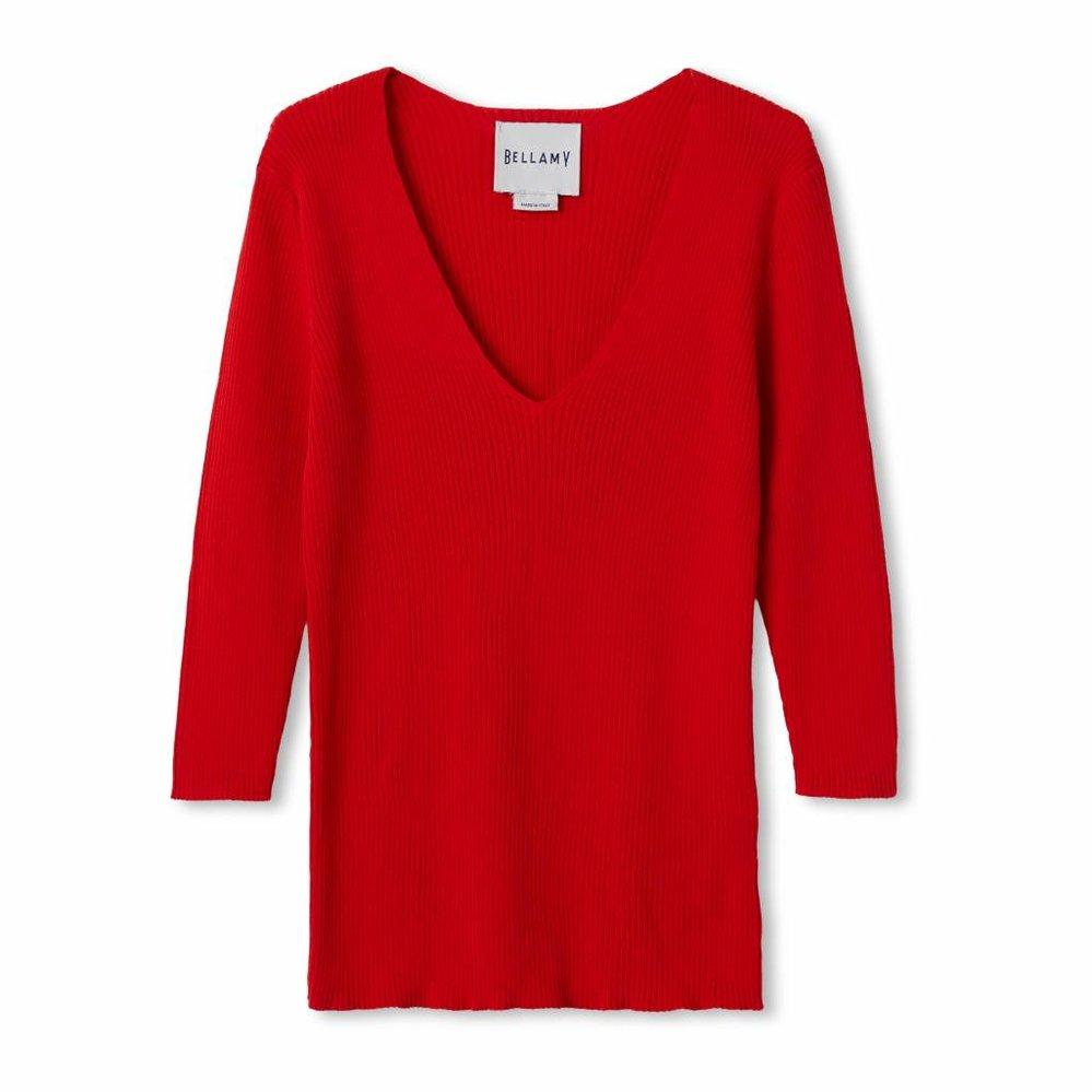 Feminine very classy v-neck pullover