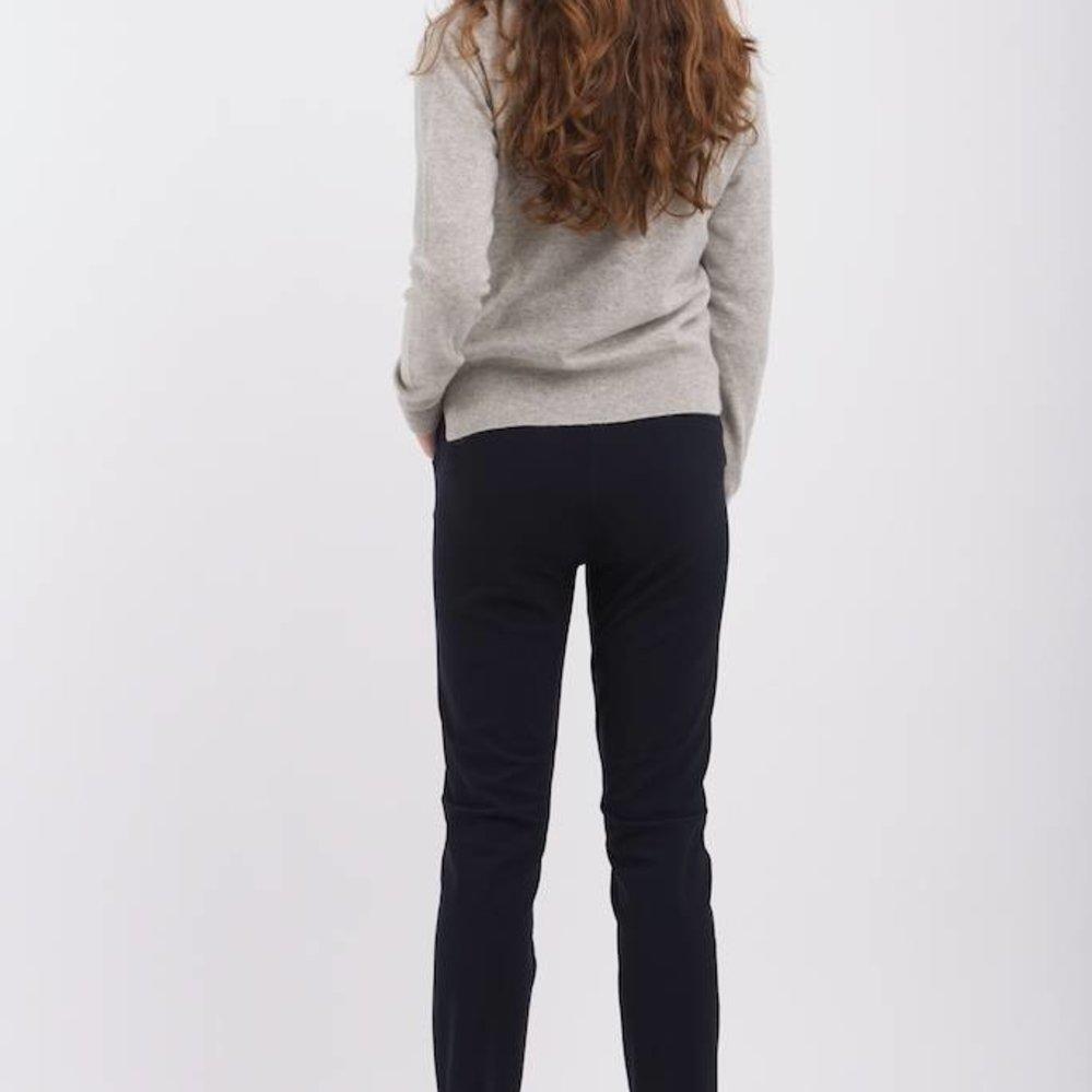 High stretch travel fabric staight leg