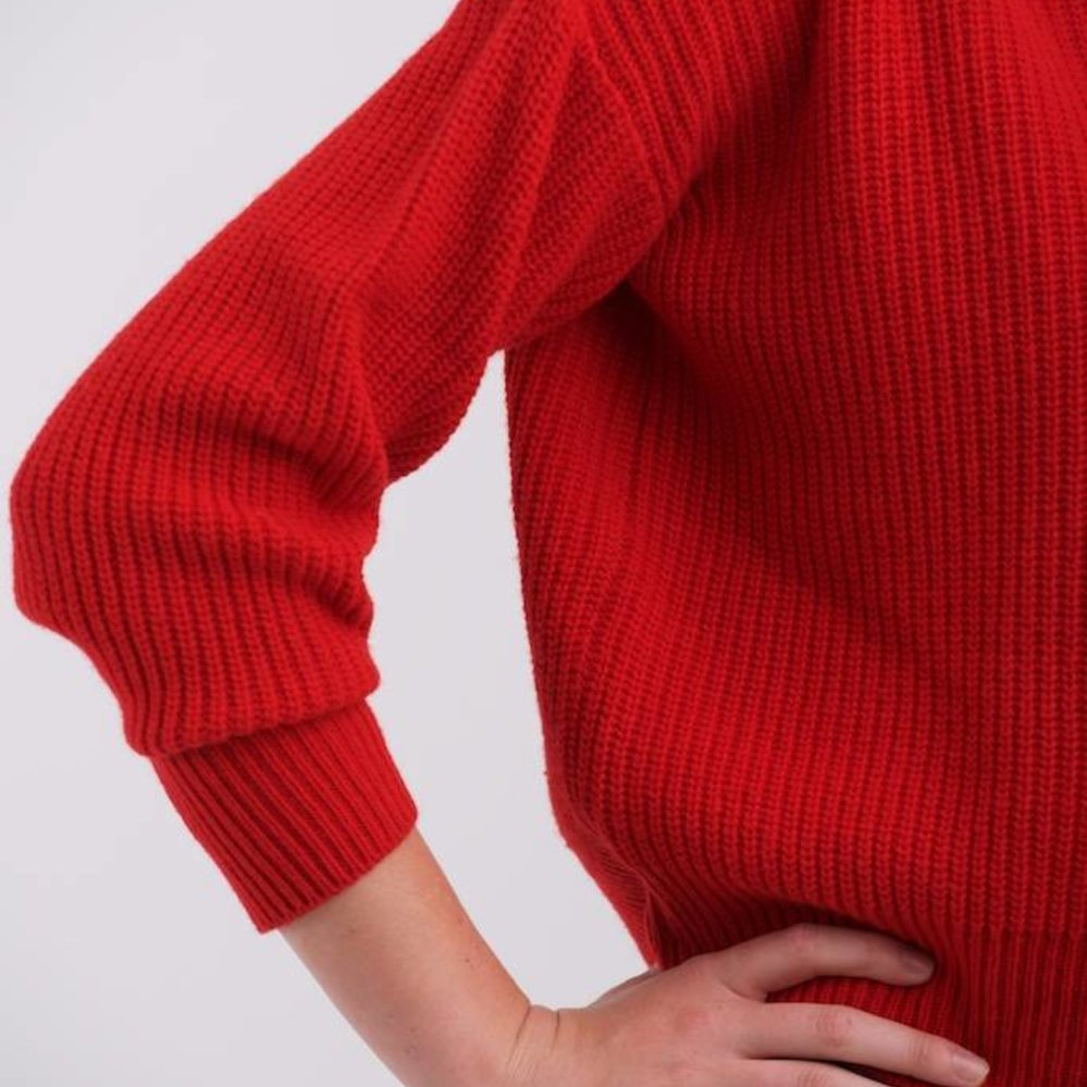 Hooded Rib sweater
