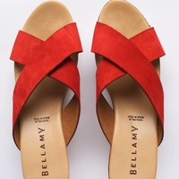 annabelle schoen vrouwen rood