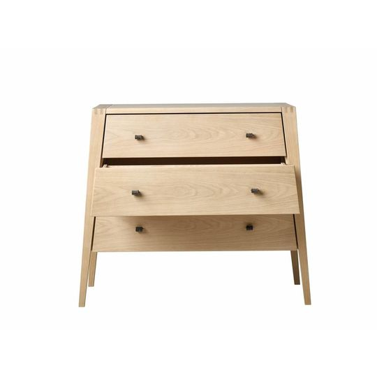 linea by leander dresser / chest of drawers oak