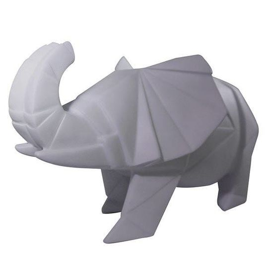 disaster designs origami elephant lamp