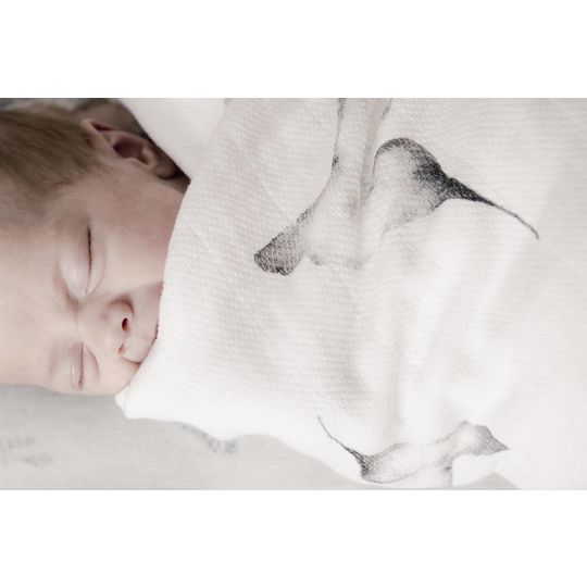 mies & co swaddle blanket little dreams
