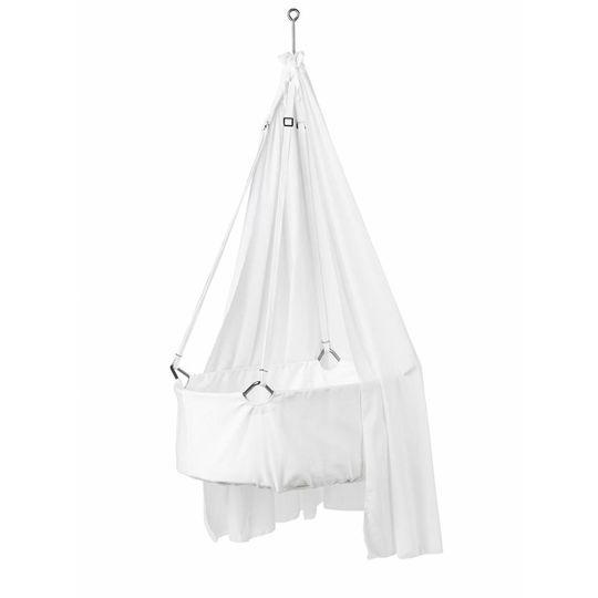 Leander Hanging cradle white
