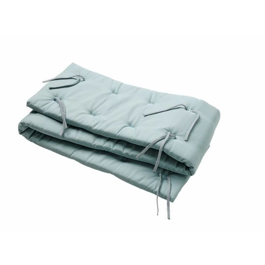 linea by leander bed bumper misty blue
