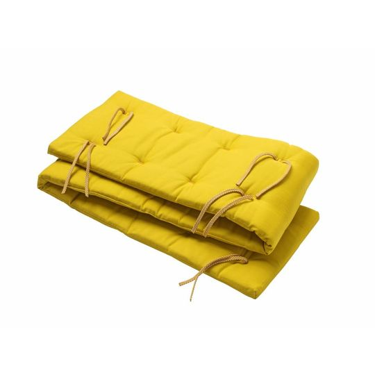 leander bed bumper spicy yellow