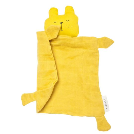 fabelab knuffeldoek lazy bear
