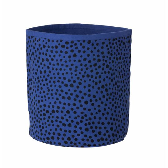ferm living basket dots blue