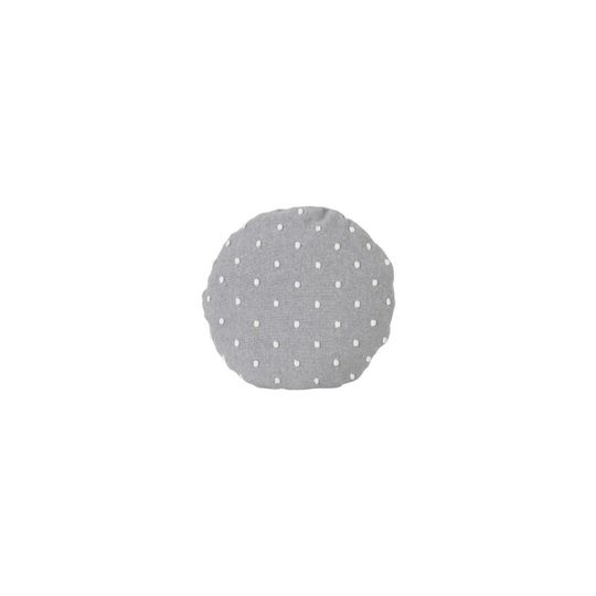 ferm living popcorn cushion grey