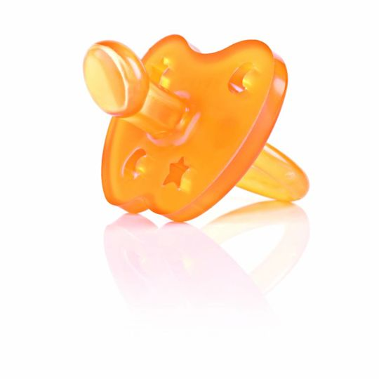 hevea star & moon pacifier orthodontic 0-3 months