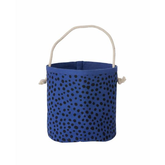ferm living mini basket billy blue