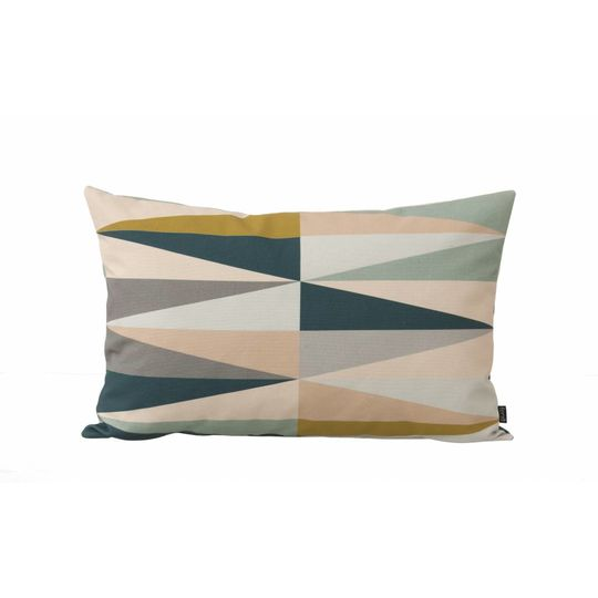 ferm living spear pillow multi small
