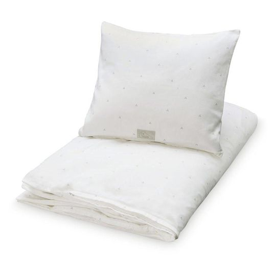 camcam copenhagen duvet cover dot cream grey junior