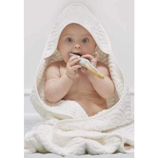 camcam copenhagen hooded towel rose