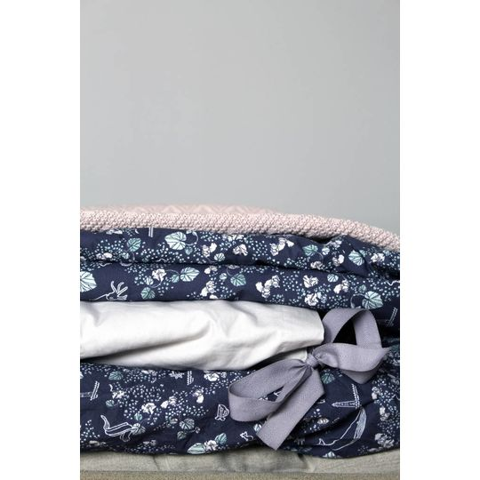 garbo&friends ollie pink cotton blanket