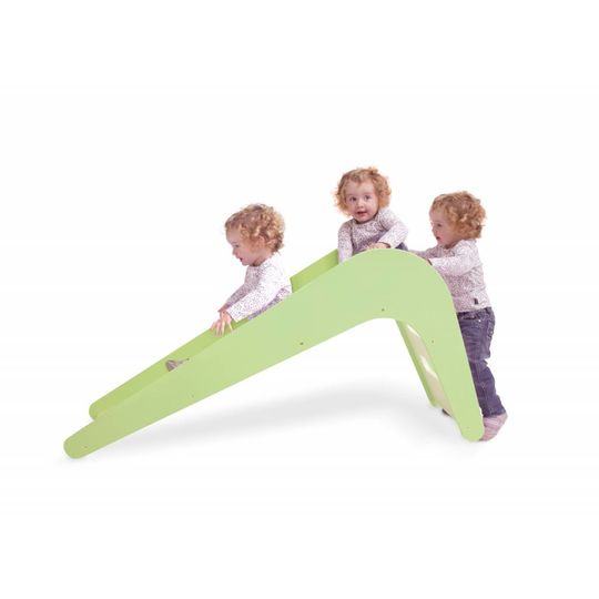 jupiduu wood slide elephant white / green