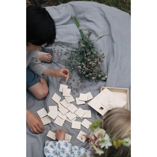 loullou wooden memory game