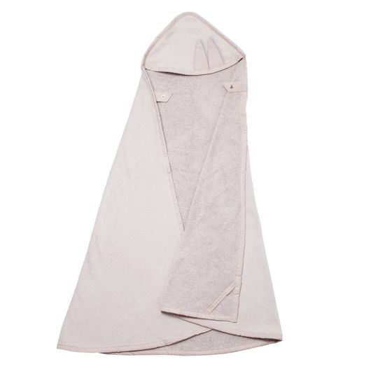 fabelab hooded towel bunny (mauve)