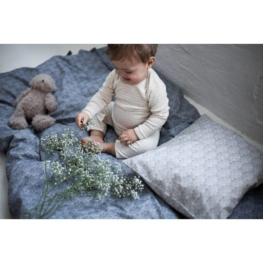 konges sløjd botanic granit blue junior duvet cover