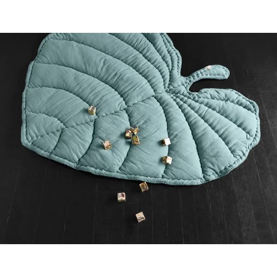 nofred leaf blanket / play mat green