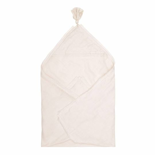 konges sløjd muslin baby handdoek / swaddle light rose