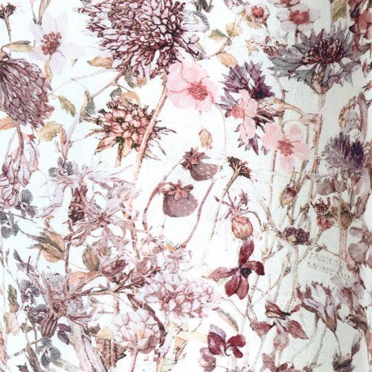 Super Carla hoeslaken junior wild flowers roze 70x140