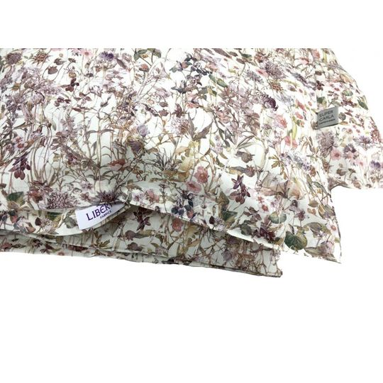 super carla dekbedovertrek wild flowers rose baby 70x100