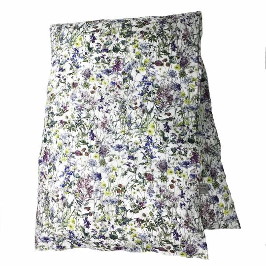 super carla duvet cover wild flowers blue baby 70x100