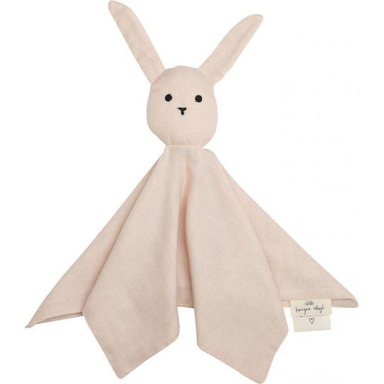 konges sløjd sleepy rabbit knuffeldoek light rose