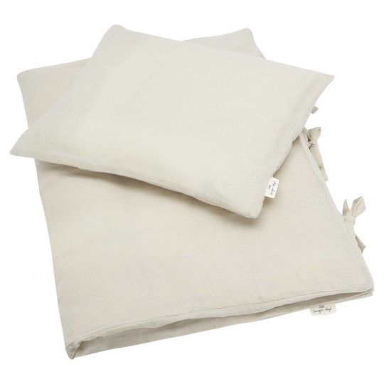 konges sløjd muslin duvet cover dust oat adult